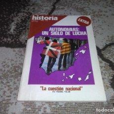Coleccionismo de Revista Historia 16: REVISTA HISTORIA 16 EXTRA V ABRIL 1978 AUTONOMÍAS UN SIGLO DE LUCHA . Lote 155938098