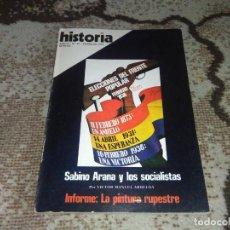 Coleccionismo de Revista Historia 16: REVISTA HISTORIA 16 N 10 FEBRERO 1977 ELECCIONES DEL FRENTE POPULAR . Lote 155940170