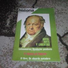 Coleccionismo de Revista Historia 16: REVISTA HISTORIA 16 N 28 AGOSTO 1978 GOYA ARTE Y LIBERTAD. Lote 155940306