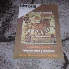 Coleccionismo de Revista Historia 16: REVISTA HISTORIA 16 N 30 OCTUBRE 1978 LOS JUEGOS ROMANOS . Lote 155940482