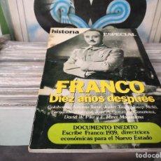 Coleccionismo de Revista Historia 16: HISTORIA 16 Nº 115, FRANCO: DIEZ AÑOS DESPUES. Lote 156485306
