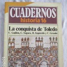 Coleccionismo de Revista Historia 16: CUADERNOS DE HISTORIA 16. N º 82 LA CONQUISTA DE TOLEDO. Lote 157125210
