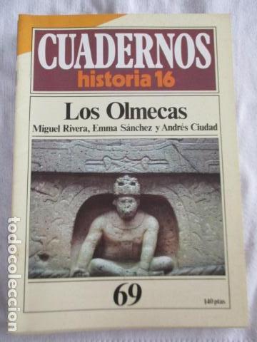 CUADERNOS DE HISTORIA 16. N º 69 LOS OLMECAS (Coleccionismo - Revistas y Periódicos Modernos (a partir de 1.940) - Revista Historia 16)
