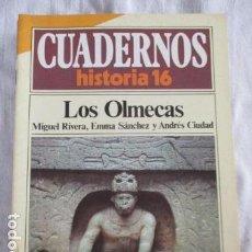 Coleccionismo de Revista Historia 16: CUADERNOS DE HISTORIA 16. N º 69 LOS OLMECAS. Lote 157125314