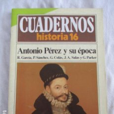 Coleccionismo de Revista Historia 16: CUADERNOS DE HISTORIA 16. N º 60 ANTONIO PEREZ Y SU EPOCA. Lote 157125658