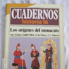 Coleccionismo de Revista Historia 16: CUADERNOS DE HISTORIA 16. N º 59 LOS ORIGENES DEL MONACATO. Lote 157125798