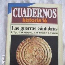 Coleccionismo de Revista Historia 16: CUADERNOS DE HISTORIA 16. N º 58 LAS GUERRAS CANTABRAS. Lote 157125878