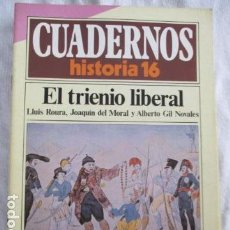 Coleccionismo de Revista Historia 16: CUADERNOS DE HISTORIA 16. N º 91 EL TRIENIO LIBERAL. Lote 157126058