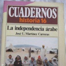 Coleccionismo de Revista Historia 16: CUADERNOS DE HISTORIA 16. N º 94 LA INDEPENDENCIA ARABE. Lote 157126182