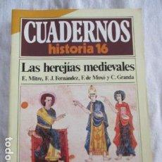 Coleccionismo de Revista Historia 16: CUADERNOS HISTORIA 16, NUM 66. LAS HEREJÍAS MEDIEVALES.. Lote 157126882
