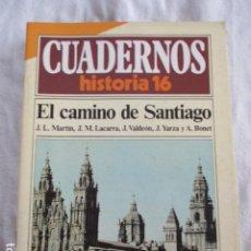 Coleccionismo de Revista Historia 16: CUADERNOS DE HISTORIA 16 EL CAMINO DE SANTIAGO - NUMERO 88. Lote 157127042
