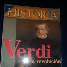 Colecionismo da Revista Historia 16: REVISTA HISTORIA 16 Nº 297 VERDI. LA REVOLUCIÓN. Lote 157278514