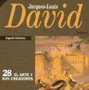 Coleccionismo de Revista Historia 16: JACQUES-LOUIS DAVID - EUGENIO CARMONA - HISTORIA 16, 1993. Lote 160441294