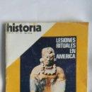 Coleccionismo de Revista Historia 16: HISTORIA 16 N 39 LESIONES RITUALES EN AMÉRICA PABLO IGLESIAS ESPARTACO. Lote 160486857