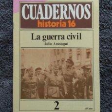 Coleccionismo de Revista Historia 16: CUADERNOS HISTORIA 16 Nº 2 - LA GUERRA CIVIL. Lote 163627150