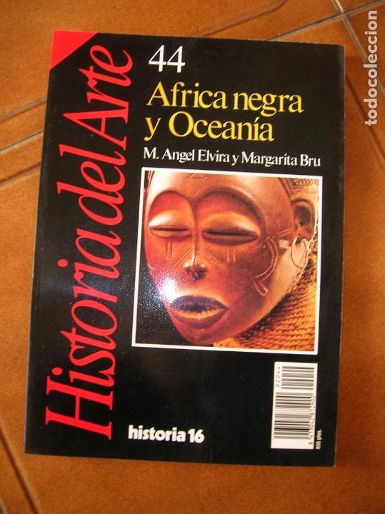 LIBRO DE HISTORIA 16 ,VOLUMEN 44 AFRICA NEGRA Y OCEANIA (Coleccionismo - Revistas y Periódicos Modernos (a partir de 1.940) - Revista Historia 16)