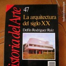 Collectionnisme de Magazine Historia 16: LIBRO DE HISTORIA 16 LA ARQUITECTURA DEL SIGLO XX. Lote 166746862