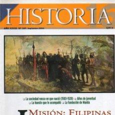 Colecionismo da Revista Historia 16: HISTORIA 16 AÑO XXVIII NUM. 341 SEPTIEMBRE 2004. Lote 168647988