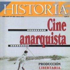 Coleccionismo de Revista Historia 16: HISTORIA 16 AÑO XXVII NUM. 322 FEBRERO 2003. Lote 168648156