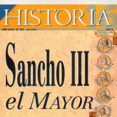 Coleccionismo de Revista Historia 16: HISTORIA 16 AÑO XXVII NUM. 327 JULIO 2003. Lote 168648184