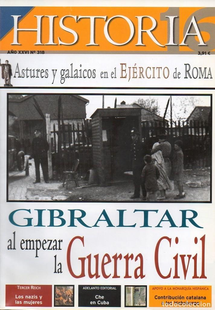 HISTORIA 16 AÑO XXVI NUM. 318 OCTUBRE 2002 (Coleccionismo - Revistas y Periódicos Modernos (a partir de 1.940) - Revista Historia 16)