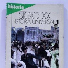 Coleccionismo de Revista Historia 16: SIGLO XX HISTORIA UNIVERSAL LA VISPERA DE NUESTRO SIGLO NUMERO 1. Lote 169335560