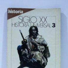 Colecionismo da Revista Historia 16: SIGLO XX HISTORIA UNIVERSAL LOS IMPERIOS FRENTE A FRENTE NUMERO 3. Lote 169335900