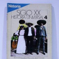 Coleccionismo de Revista Historia 16: SIGLO XX HISTORIA UNIVERSAL AMERICA ENTRA EN ESCENA NUMERO 4. Lote 169336252