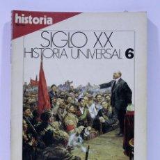 Coleccionismo de Revista Historia 16: SIGLO XX HISTORIA UNIVERSAL OCTUBRE ROJO NUMERO 6. Lote 169336844