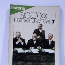 Coleccionismo de Revista Historia 16: SIGLO XX HISTORIA UNIVERSAL LOS PROBLEMAS DE LA PAZ NUMERO 7. Lote 169337156