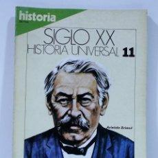 Coleccionismo de Revista Historia 16: SIGLO XX HISTORIA UNIVERSAL LA PAZ IMPOSIBLE NUMERO 11. Lote 169338116