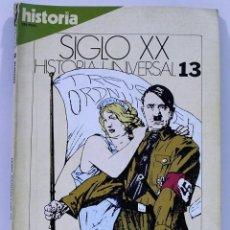 Coleccionismo de Revista Historia 16: SIGLO XX HISTORIA UNIVERSAL EL TERREMOTO NAZI NUMERO 13. Lote 213077987