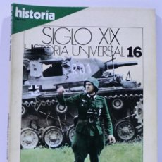 Coleccionismo de Revista Historia 16: SIGLO XX HISTORIA UNIVERSAL LA GUERRA RELAMPAGO NUMERO 16. Lote 169339344