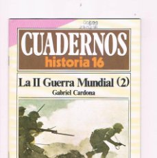Coleccionismo de Revista Historia 16: CUADERNOS HISTORIA 16 LA SEGUNDA GUERRA MUNDIAL 2 NUMERO 72 1985. Lote 169880192