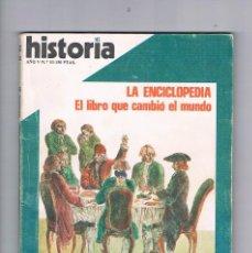 Coleccionismo de Revista Historia 16: HISTORIA 16 NUMERO 53 1980 LA ENCICLOPEDIA. Lote 169880956