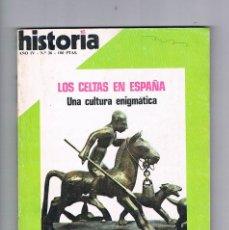 Coleccionismo de Revista Historia 16: HISTORIA 16 NUMERO 36 1979 LOS CELTAS EN ESPAÑA. Lote 169881296