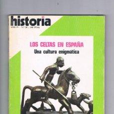 Coleccionismo de Revista Historia 16: HISTORIA 16 NUMERO 36 1979 LOS CELTAS EN ESPAÑA. Lote 169881352