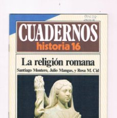Coleccionismo de Revista Historia 16: CUADERNOS HISTORIA 16 LA RELIGION ROMANA NUMERO 80 1985. Lote 170913885