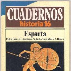 Coleccionismo de Revista Historia 16: CUADERNOS HISTORIA 16 ESPARTA Nº 14. Lote 171758127