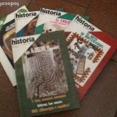 Coleccionismo de Revista Historia 16: LOTE DE CINCO REVISTAS HISTORIA 16. AÑOS 77-78. Lote 172356363