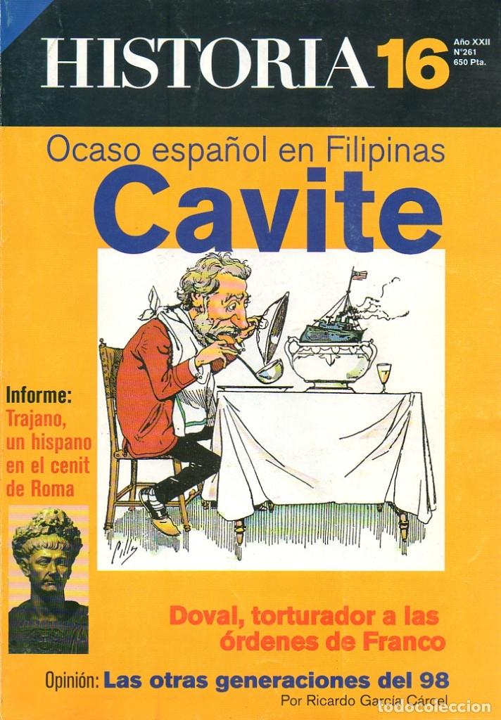 HISTORIA 16 AÑO XXII NUM. 261 ENERO 1998 (Coleccionismo - Revistas y Periódicos Modernos (a partir de 1.940) - Revista Historia 16)