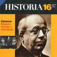Coleccionismo de Revista Historia 16: HISTORIA 16 AÑO XXII NUM. 262 FEBRERO 1998. Lote 175301917