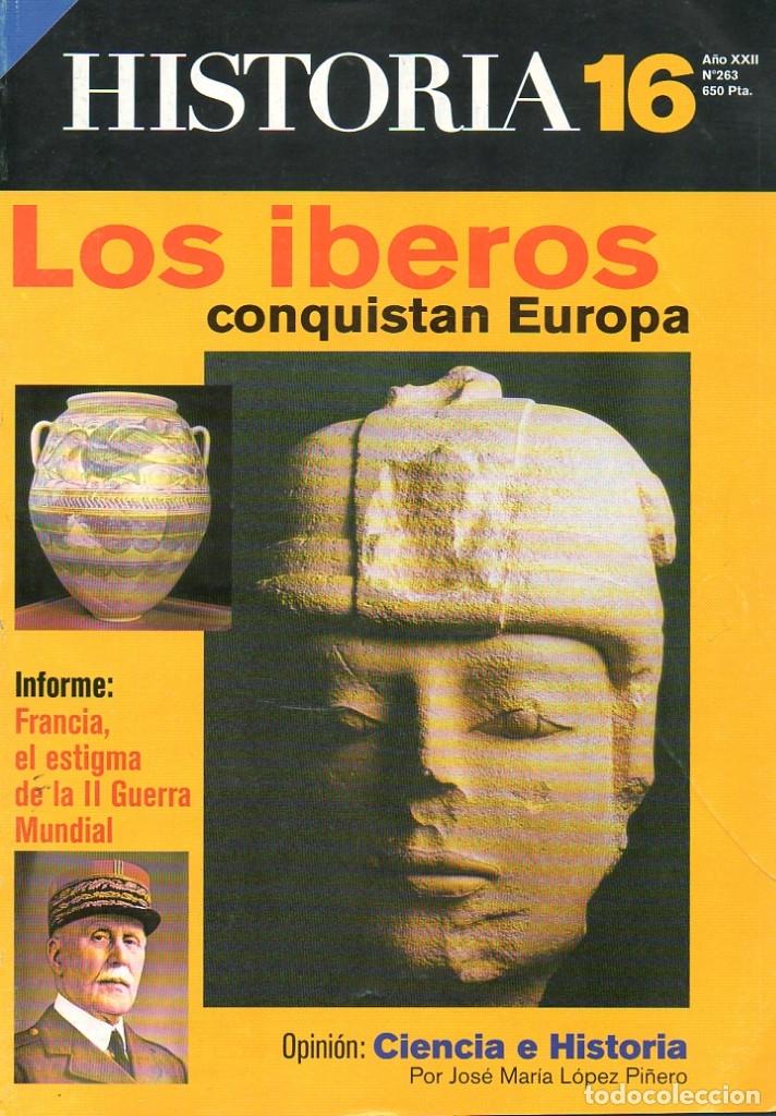 HISTORIA 16 AÑO XXII NUM. 263 MARZO 1998 (Coleccionismo - Revistas y Periódicos Modernos (a partir de 1.940) - Revista Historia 16)