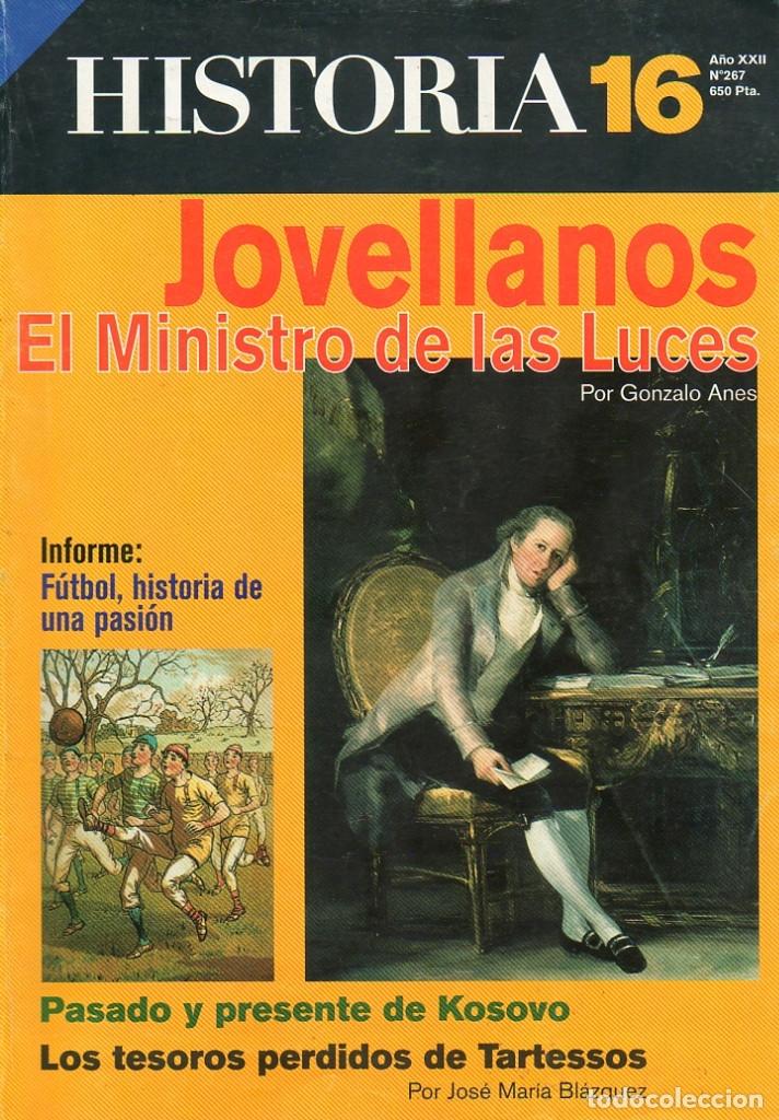 HISTORIA 16 AÑO XXII NUM. 267 JULIO 1998 (Coleccionismo - Revistas y Periódicos Modernos (a partir de 1.940) - Revista Historia 16)