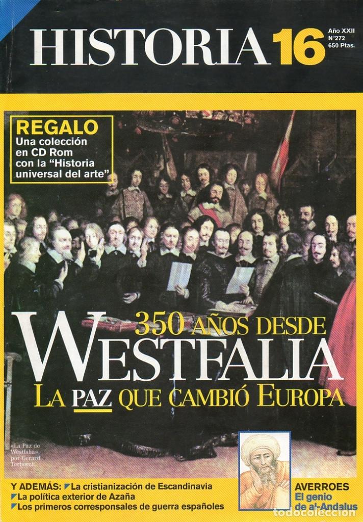 HISTORIA 16 AÑO XXII NUM. 272 DICIEMBRE 1998 (Coleccionismo - Revistas y Periódicos Modernos (a partir de 1.940) - Revista Historia 16)