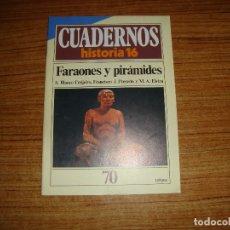 Coleccionismo de Revista Historia 16: REVISTA CUADERNOS HISTORIA 16 FARAONES Y PIRAMIDES Nº 70. Lote 176592663
