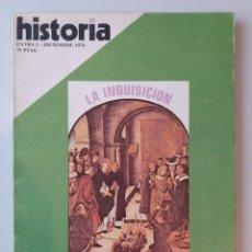 Coleccionismo de Revista Historia 16: HISTORIA 16 / LA INQUISICION REPRESION EN ESPAÑA. Lote 179059777
