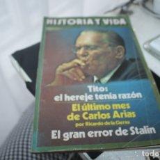 Coleccionismo de Revista Historia 16: HISTORIA Y VIDA NUMERO 101 AÑO 9 TITO. Lote 180094618
