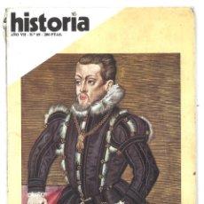 Coleccionismo de Revista Historia 16: HISTORIA 16. FELIPE II, RETRATI INÉDITO. 69. ENERO 1982. Lote 180281053