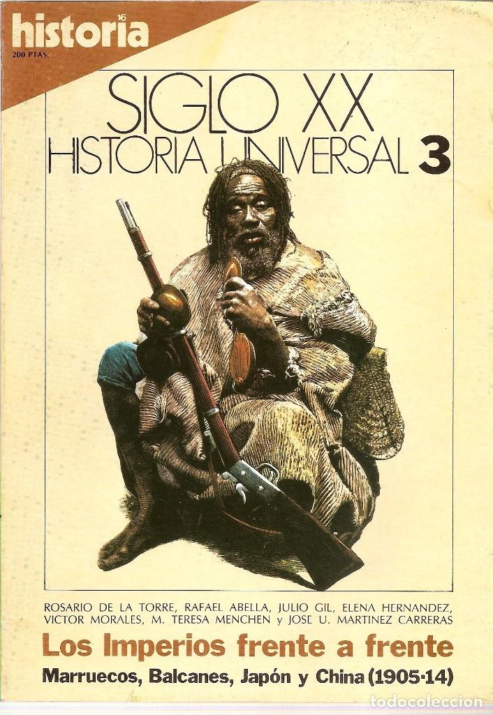 Coleccionismo de Revista Historia 16: HISTORIA UNIVERSAL SIGLO XX HISTORIA 16 16 REVISTAS - O NUMEROS SUELTOS - Foto 2 - 180416421